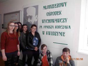Czytaj więcej: Wizyta w Młodzieżowym Ośrodku Wychowawczym im. Janusza Korczaka w Kwidzynie